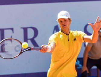 ATP-Turnier in München: Hanfmann erkämpft sich Duell gegen Zverev