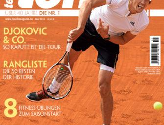 tennis Magazin 5/2018: Ausgebremst – Das bittere 2:3 im Davis Cup in der Analyse