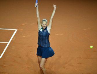 Pliskova gewinnt Titel in Stuttgart
