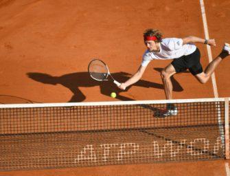 Zverev wieder die Nummer drei der Welt – Nadal weiter vorn