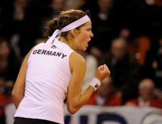 Mit Görges und Kerber im Fed-Cup-Halbfinale gegen Tschechinnen