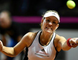 Kerber verliert: Fed-Cup-Frauen scheitern im Halbfinale