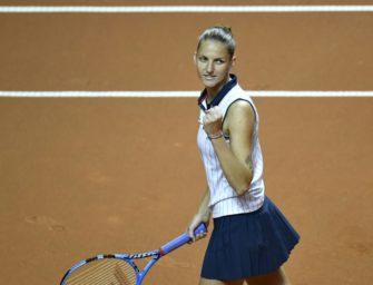 Pliskova und Vandeweghe im WTA-Finale von Stuttgart