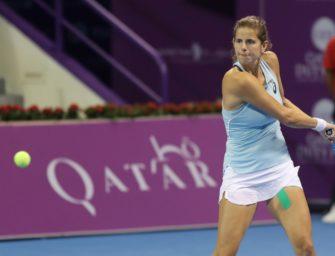 Fed-Cup: Görges eröffnet Halbfinale in Stuttgart gegen Kvitova