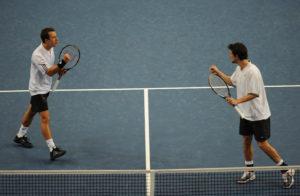 Philipp Kohlschreiber und Philipp Petzschner spielten gegen Feliciano Lopez und Fernando Verdasco das längste Doppel der deutschen Davis Cup-Geschichte.