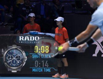 Jetzt aber schnell: US Open führen die Shot Clock ein