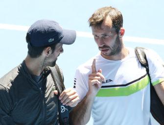 Novak Djokovic trennt sich auch von Stepanek