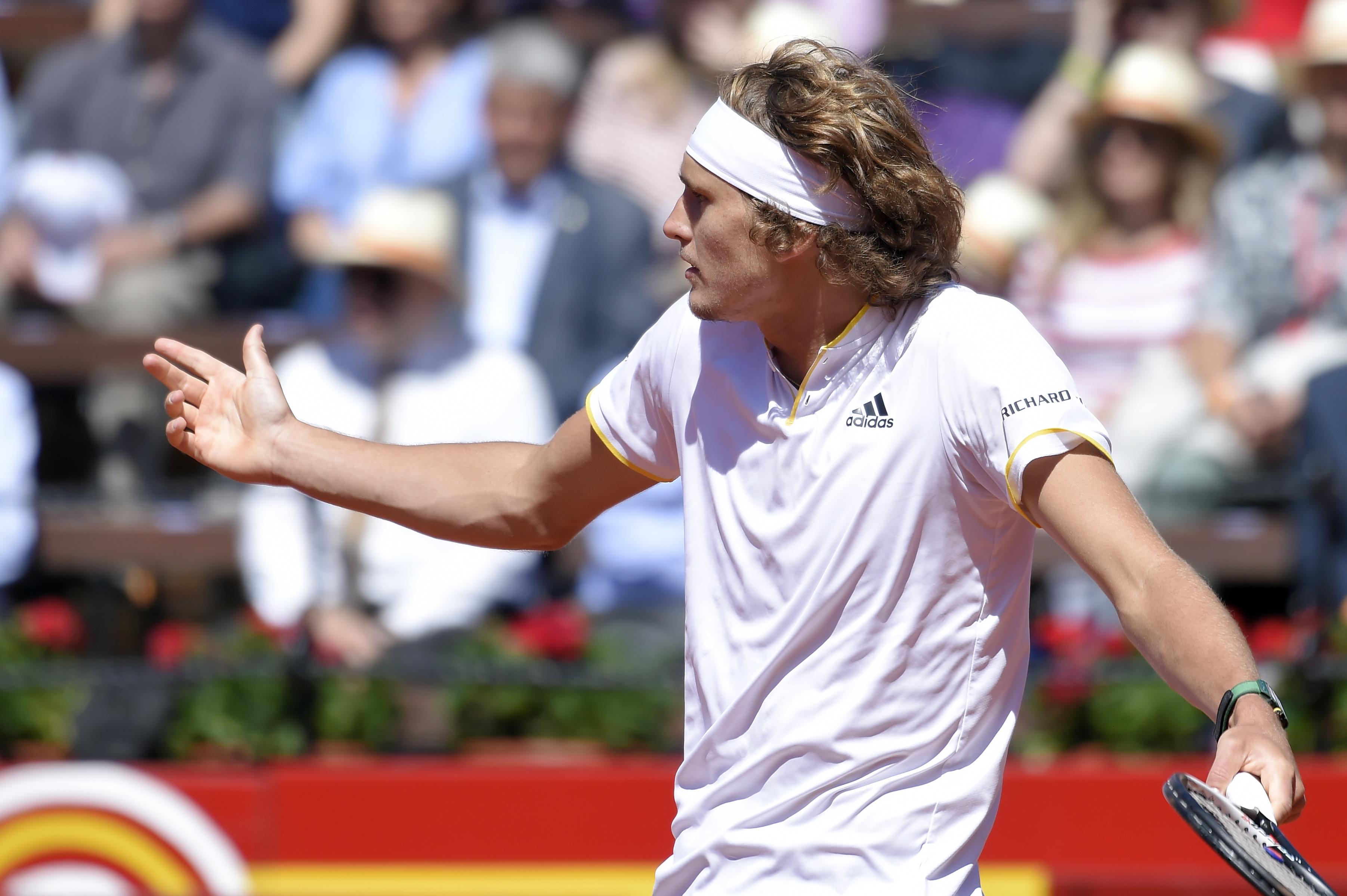 Alexander Zverev war im Davis Cup-Viertelfinale gegen Rafael Nadal nicht in der Lage, nahezu chancenlos.
