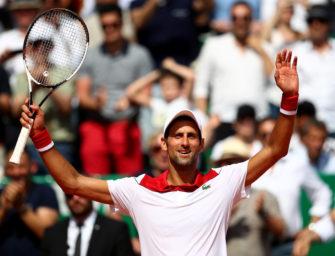 Monte Carlo: Djokovic siegt mit dem zehnten Matchball