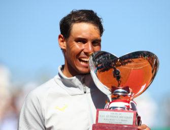 Sandplatz-König Nadal gewinnt elften Titel in Monte Carlo