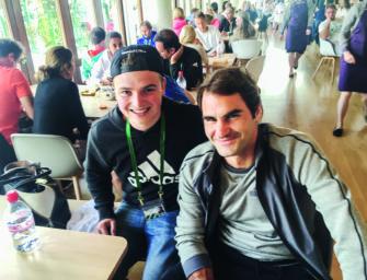 Waskes Welt: Besondere Erlebnisse mit Roger Federer