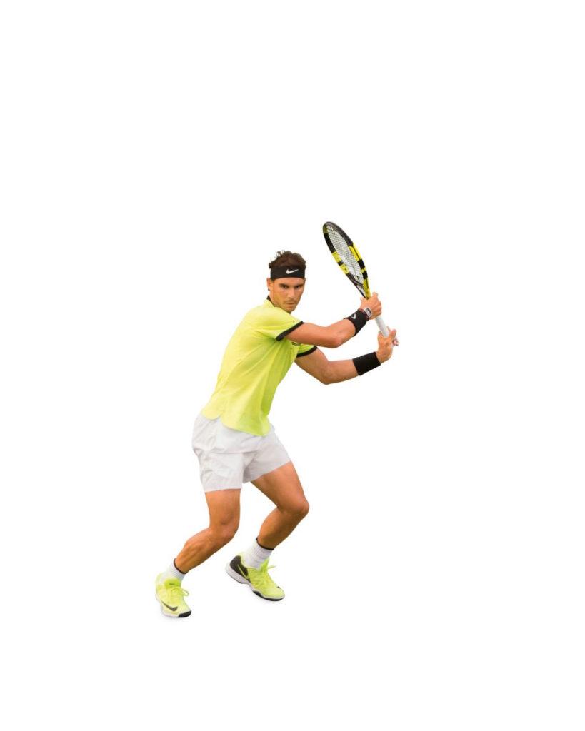 Rafael Nadals Vorhand in der Analyse.
