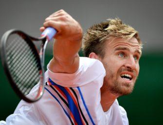 Gojowczyk für Erstrunden-Aufgabe in Paris bestraft