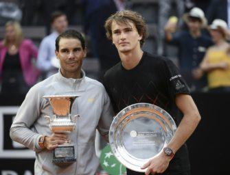 """Nadal rechnet bei Grand Slams mit Zverev: """"Tennis bleibt Tennis"""""""