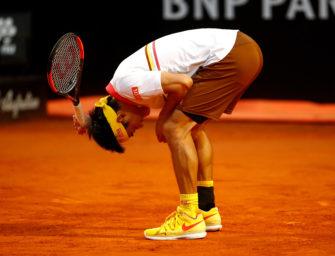 Nishikori, Djokovic und die schlimmsten Fehlschläge der Tennisgeschichte
