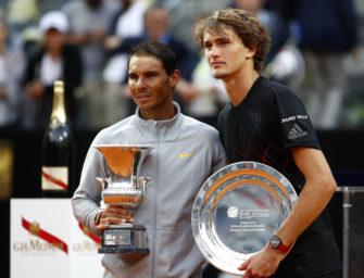 Zverevs reicher Erfahrungsschatz für die French Open
