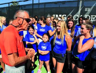 Juniorentennis: Fünf Tipps von Trainerlegende Nick Bollettieri