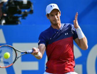 Tennisstar Murray gibt Comeback in Queens