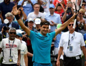Federer offiziell wieder Nummer eins der Weltrangliste