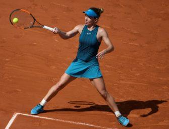 Kerber-Bezwingerin Halep erneut im French-Open-Finale