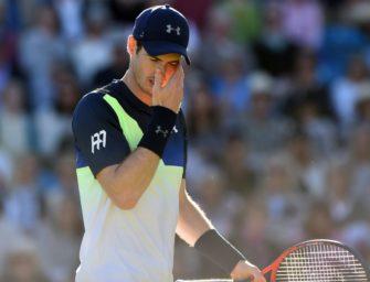Eastbourne: Murray scheitert im Achtelfinale