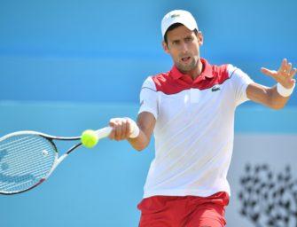 Krimi im Queens' Club: Djokovic verpasst ersten Turniersieg seit Juli 2017