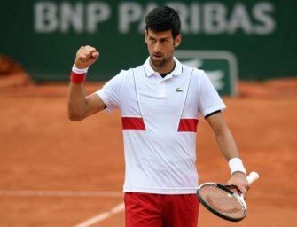 Djokovic erreicht Achtelfinale von Roland Garros
