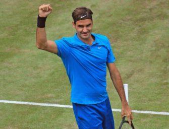Halle: Federer zum zwölften Mal im Finale – zehnter Titel greifbar