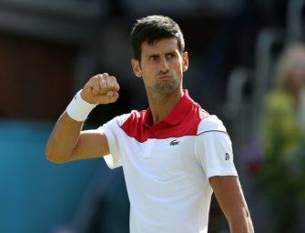Djokovic erreicht erstes Endspiel seit Juli 2017