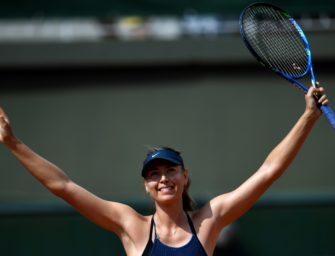 Scharapowa im Achtelfinale der French Open