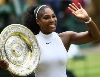 So hoch wird Serena in Wimbledon gesetzt