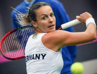 Sieg über Kenin: Maria zum ersten Mal in einem WTA-Finale
