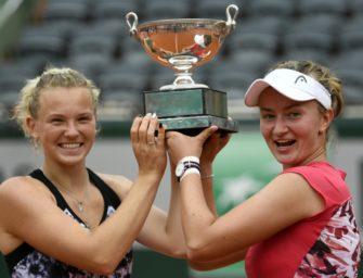 Siniakova/Krejcikova gewinnen French-Open-Titel im Doppel