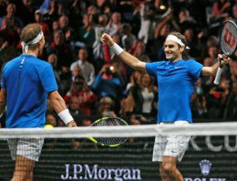 Tennis: Federer verneigt sich vor Nadal