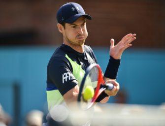 Tennis: Murray entscheidet Wimbledon-Teilnahme nach Eastbourne