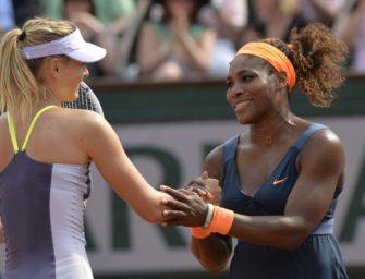 Besondere Rivalität: Williams und Scharapowa vor Achtelfinal-Duell