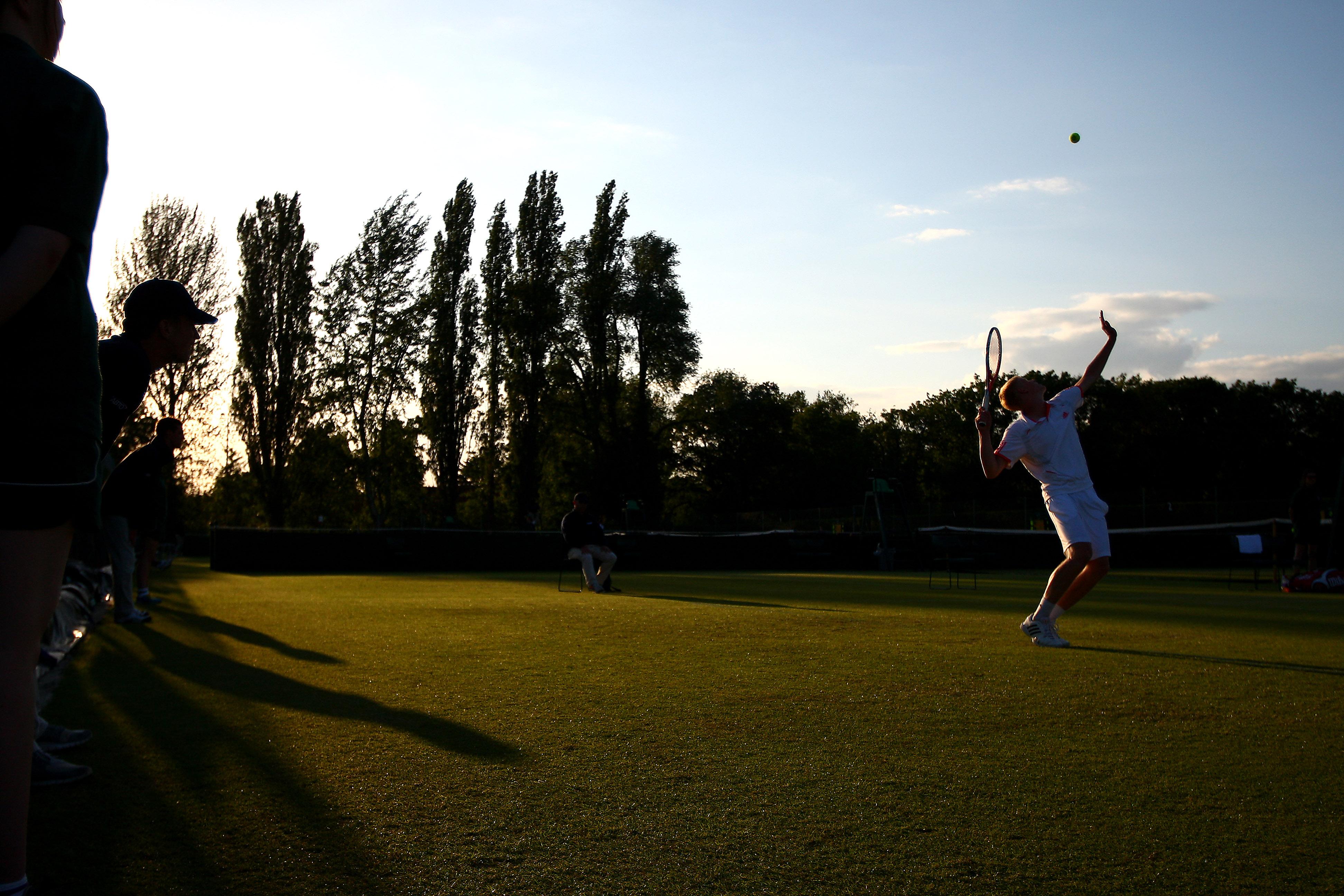 Qualifikation in Wimbledon