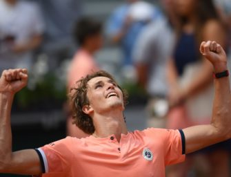 Mail aus Paris: Jede Menge Tennisjunkies dank großer Zverev-Show