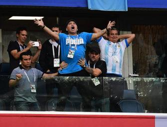 WM-Stinkefinger: So rastete Maradona beim Tennis aus