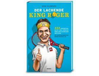 Gewinnaktion: Wir verlosen fünf witzige Roger Federer-Bücher