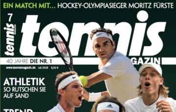 Tennis Magazin 7/2018: Wimbledon –das Highlight des Jahres