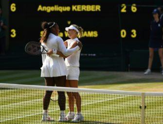 TV-Quoten: Kerber zieht trotz Wimbledon-Sieg den Kürzeren gegen kleines WM-Finale