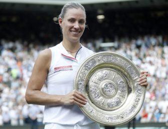 Pressestimmen zum Wimbledon-Sieg von Angelique Kerber