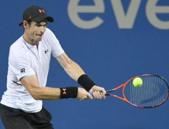 Murray gewinnt erstes Hartplatz-Match seit 17 Monaten