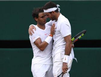 Podcast aus Wimbledon: Viertelfinal-Spektakel von Nadal und del Potro