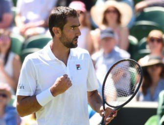 Marin Cilic in Wimbledon: Ein bisschen unter dem Radar