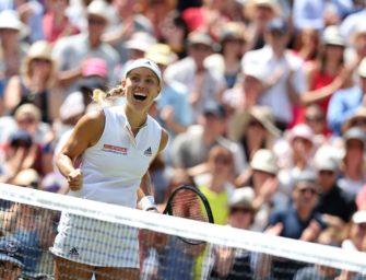 Zweites  Wimbledon-Finale für Kerber perfekt