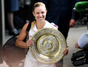 Mail aus Wimbledon: Was Kerber nach dem Titel erlebte
