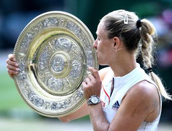 Kerber gewinnt in Wimbledon – erster deutscher Sieg seit 1996