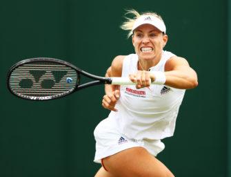 Podcast aus Wimbledon: Angelique Kerber bleibt auf Kurs